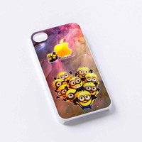 Cute Despicable Me Minions With Apple iPhone 4/4S, 5/5S, 5C,6,6plus,and Samsung s3,s4,s5,s6