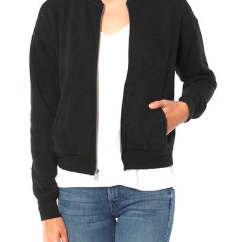 X TYLER JACOBS ROXI ZIP UP SWEATSHIRT
