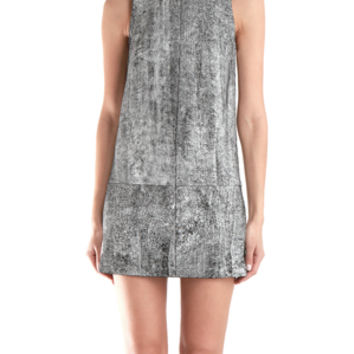 3.1 Phillip Lim Shift Dress With Leather Detail
