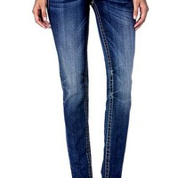 Miss Me-Bedazzle Angel Wing Skinny Jean  (Size 29)