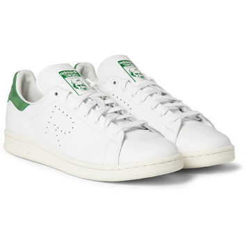 Raf Simons - Adidas Stan Smith Leather Sneakers | MR PORTER