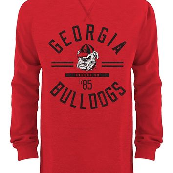 Georgia Bulldogs Mens LS Thermal Crew