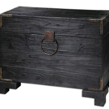 Uttermost Carino Wooden Trunk Table - 24305
