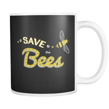"""Save the Bees (Flying)"" 11oz. Mug"