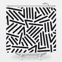 Retro Pop Shower Curtain