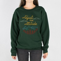 Adjust Your Altitude Crewneck Sweatshirt