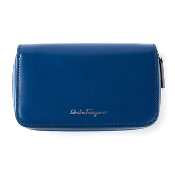 Salvatore Ferragamo zip around wallet
