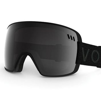 VonZipper - ALT XM Black Snow Goggles / Blackout Lenses