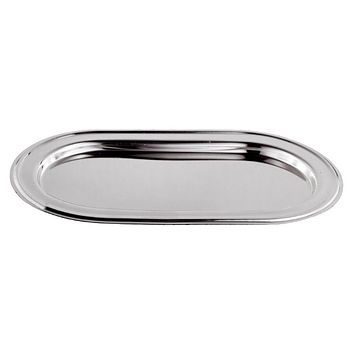 Tray For Candles Silver Plated 8.5 x13""
