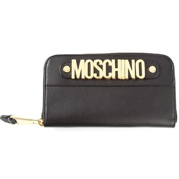Moschino Logo Charm Wallet