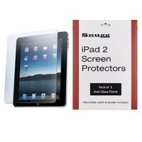 Snugg iPad High Transparency Screen Protectors (pack of 2) - Includes Microfiber Cloth and Anti Bubble Leveller - Compatible with iPad 2, 3 & 4