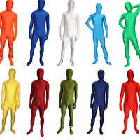 Full Body Lycra Spandex Skin Suit Catsuit Halloween Party Costumes S-XXL