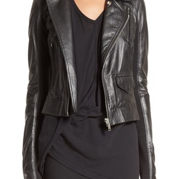 Rick Owens Stooges Leather Jacket | Nordstrom