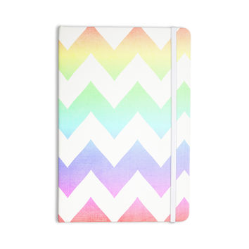 "Catherine McDonald ""Water Color"" Chevron Everything Notebook"