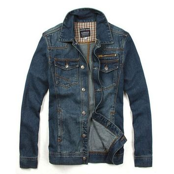 Best Mens Jean Jacket - Coat Nj