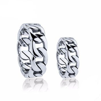 Couple Wedding Rings 925 Sterling Silver Jewelry Classic Women Men Unisex Lover Finger Ring
