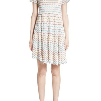 MARC JACOBS Knit Babydoll Dress | Nordstrom