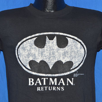 90s Batman Returns Movie Deadstock t-shirt Youth Extra-Large