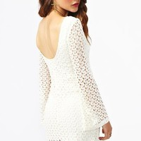 Jane Crochet Dress in  Clothes Dresses Body-Con at Nasty Gal