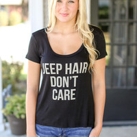 Jeep Hair Don't Care Tee - Black