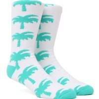 Neff Palms Galore Snow Socks - Mens Socks - White - One