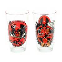 Marvel Deadpool Pint Glass 2-Pack