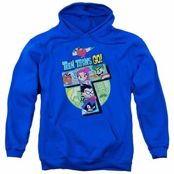Teen Titans Go! T Tower DC Comics Licensed Adult Pullover Hoodie