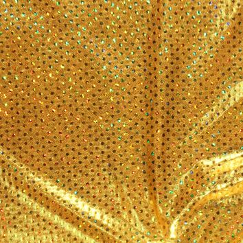 Performance Fabric- Gold Gold Ultimate Poly Spandex | Jo-Ann