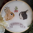 Custom Pet Portait - 2 or More Pets  Embroidery Custom Portrait Animal Lover Pet Lover Gift Under 50