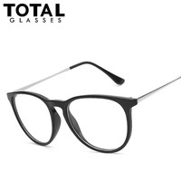 Fashion Round Keyhole Vintage Clear lenses Glasses Men Women Designer Brand Metal Thin Legs Eyewear  Oculos De Sol