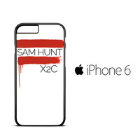 Sam Hunt X2C A0756 iPhone 6 Case