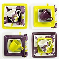 Laurie Gates Dinnerware, Anna Lily Collection - Casual Dinnerware - Dining & Entertaining - Macy's