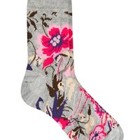 ASOS Bright Floral Ankle Socks at asos.com