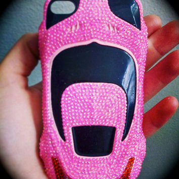 EXCLUSIVE Hot Pink Sports Car iPhone 4 Case