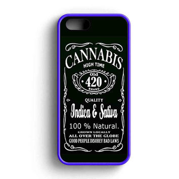 Cannabis Weed iPhone 5 Case iPhone 5s Case iPhone 5c Case