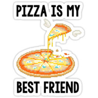 Pizza is my best friend tee