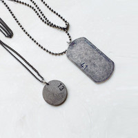 Jewelry Shiny Stylish Gift New Arrival Stainless Steel Pendant Necklace [9664563535]