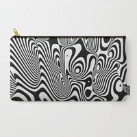 Trippy Background Carry-All Pouch by Danny Ivan