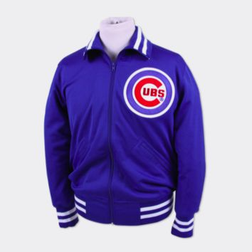 084a66a8131 Mitchell   Ness Chicago Cubs 1982 BP Jacket