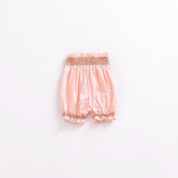 Hot Shorts New Cute Ruffles Bloomers 2018 Summer Floral Printed Girls  Newborn Baby Girl Clothes Infant Toddler Pants Bebes OutwearAT_43_3