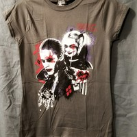 WOMEN'S SUICIDE SQUAD HARLEY QUINN'S PUDDIN LADIES T-SHIRT