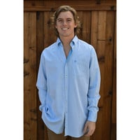 Southern Tide Gun Port Sport Shirt- Rushing Water