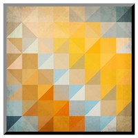 Art.com - Abstract Triangles Geometry