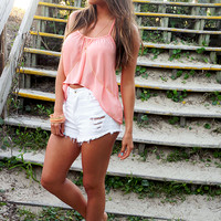 It's A Breeze Top: Peach