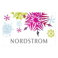 Nordstrom 'Holiday Snowflakes' Gift Card