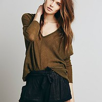Free People Womens Foiled Soft Short