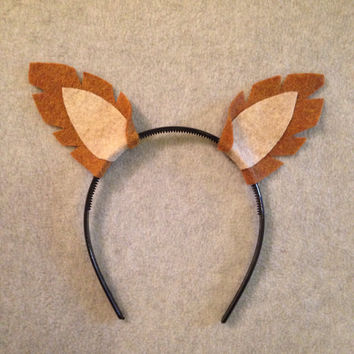 1 quantity headband Fox ears headband birthday party favors photo booth prop costume What does the say adult children baby babies orange