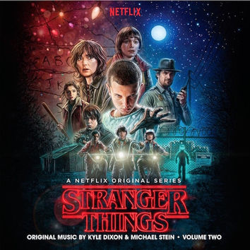 Kyle Dixon & Michael Stein ‎– Stranger Things, Vol. 2 (A Netflix Original Series Soundtrack) ‎LP