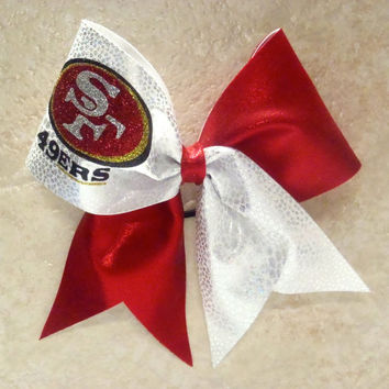 San Francisco 49ers Cheer Bow