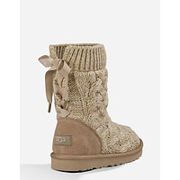 UGG female fashion wool snow boots wool shoes